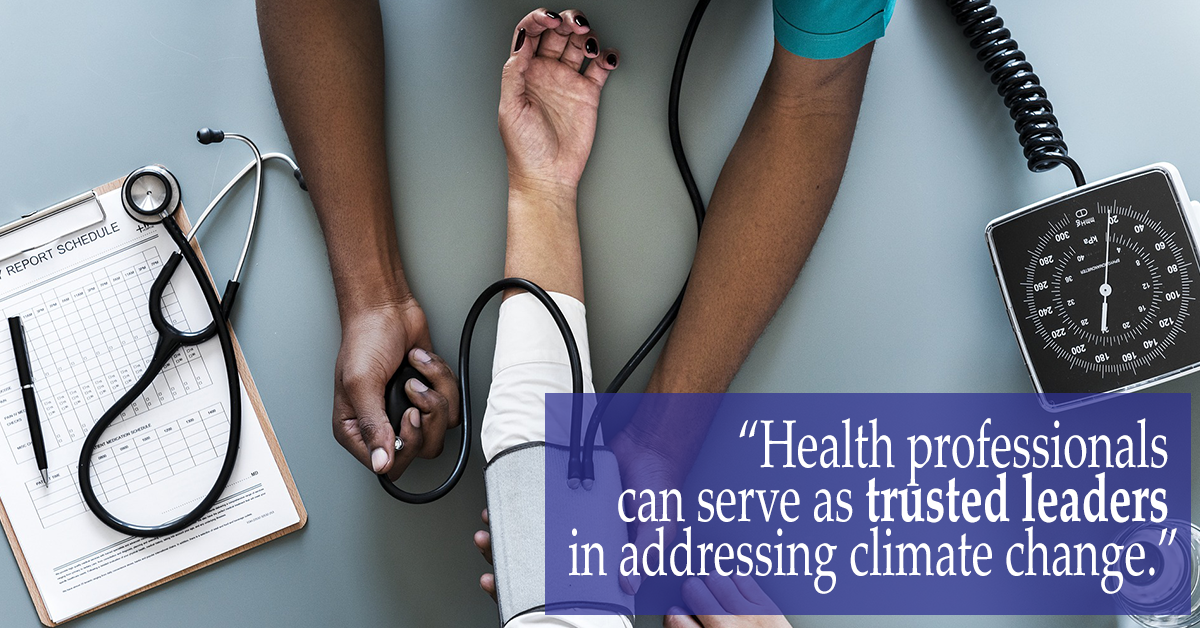 health professionals and climate change