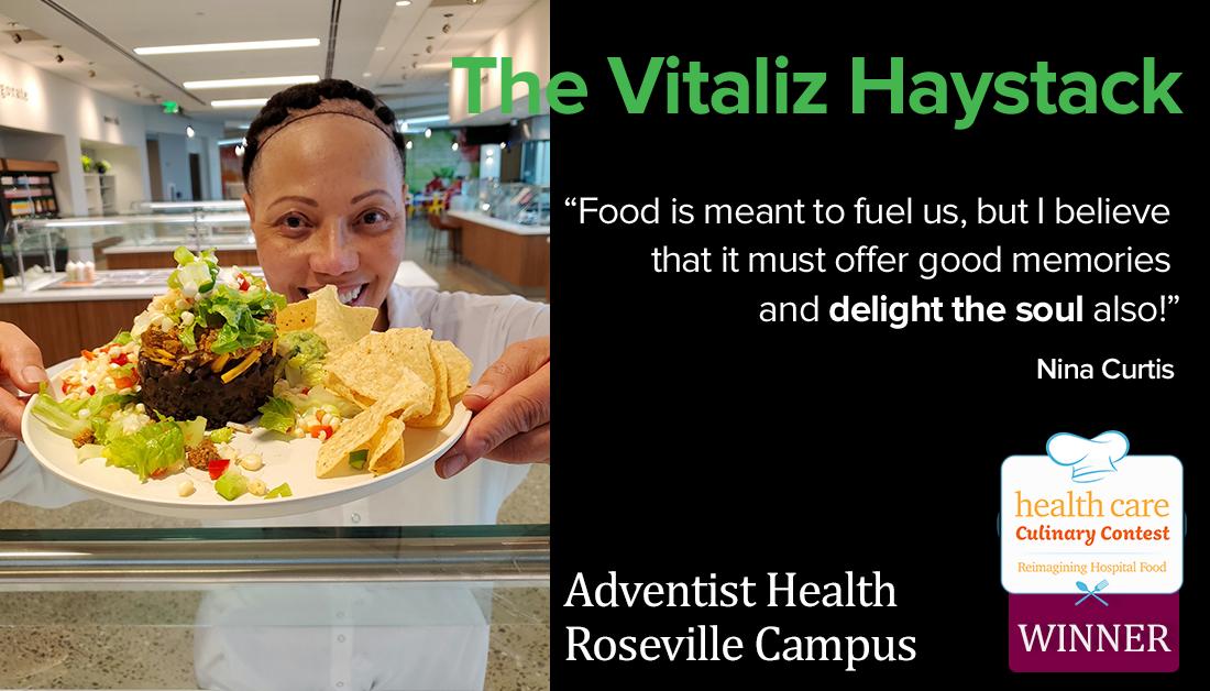 Vitaliz haystack - culinary contest winner