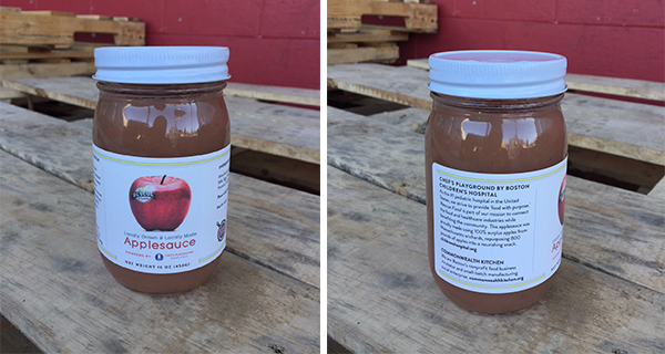 CWK Applesauce front and back