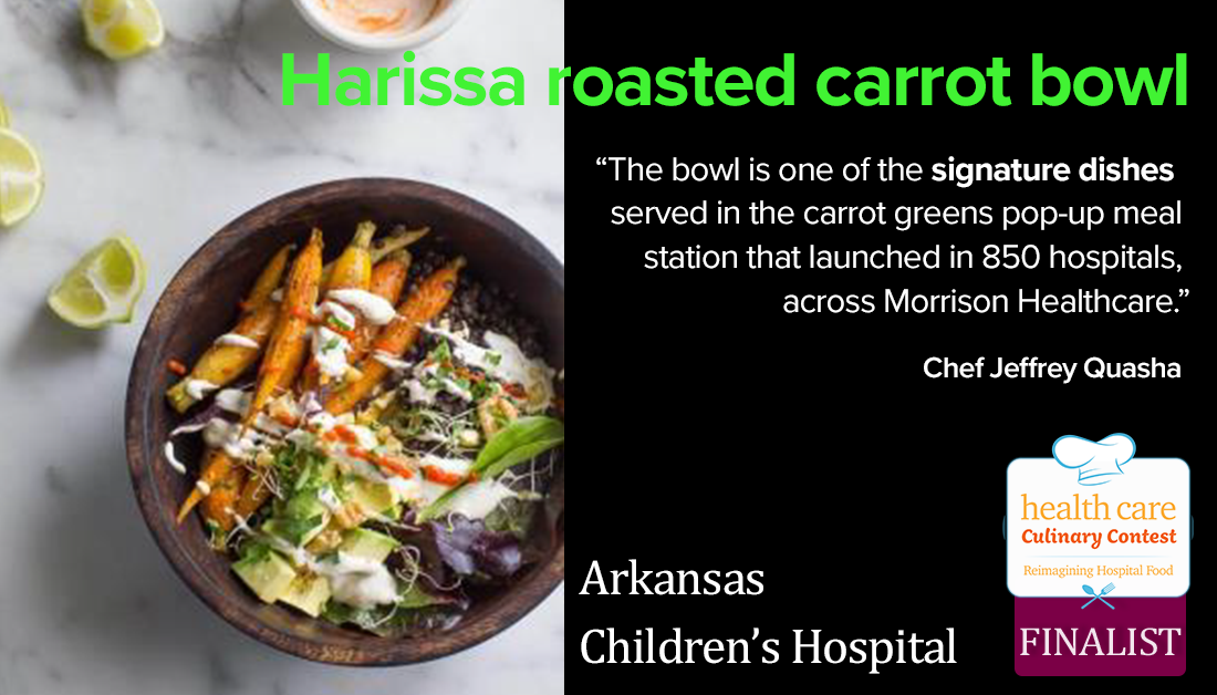 Hariss roasted carrot bowl