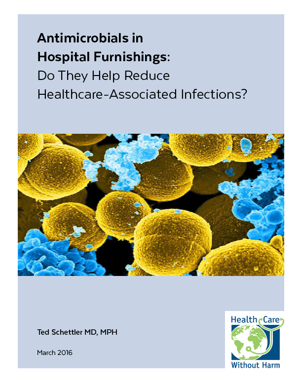 Link to Antimicrobials in Hospital Furnishings Report