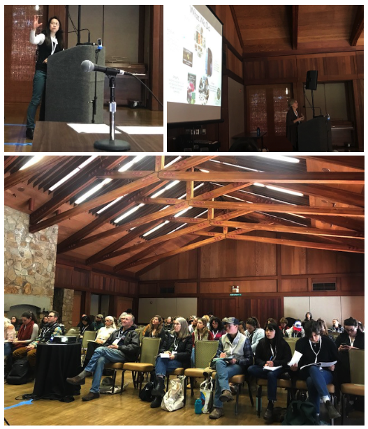 EcoFarm conference photo collage