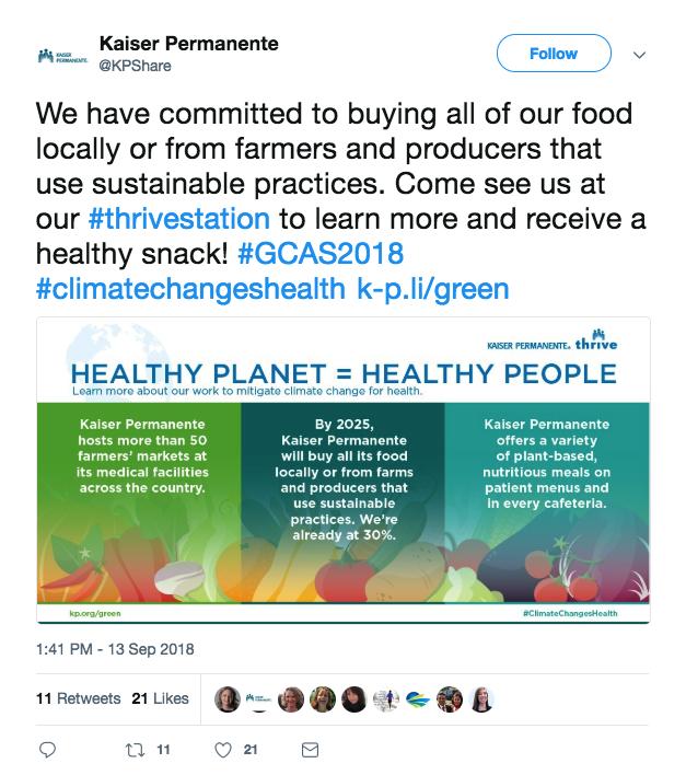 Kaiser GCAS tweet