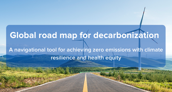 Global road map for decarbonization