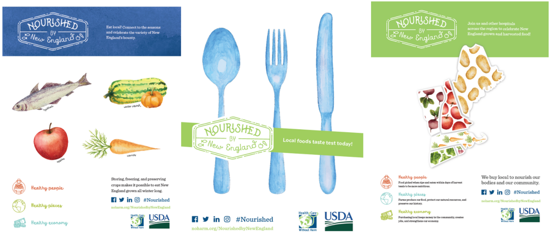 Nourished program posters