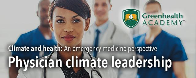 Physician climate leadership meme