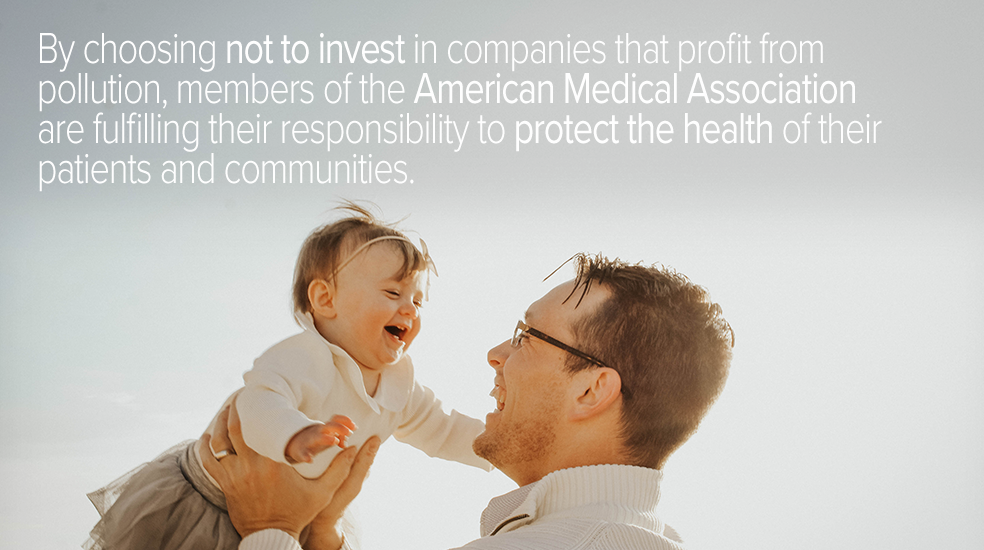 American Medical Association fossil fuel divestment