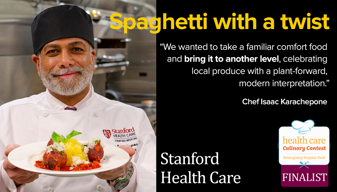 Stanford Healthcare spaghetti with a twist