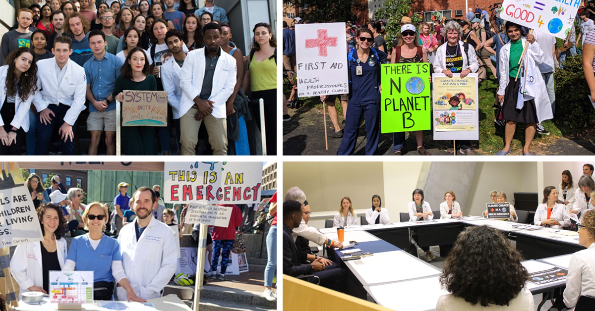 Health professionals as climate advocates