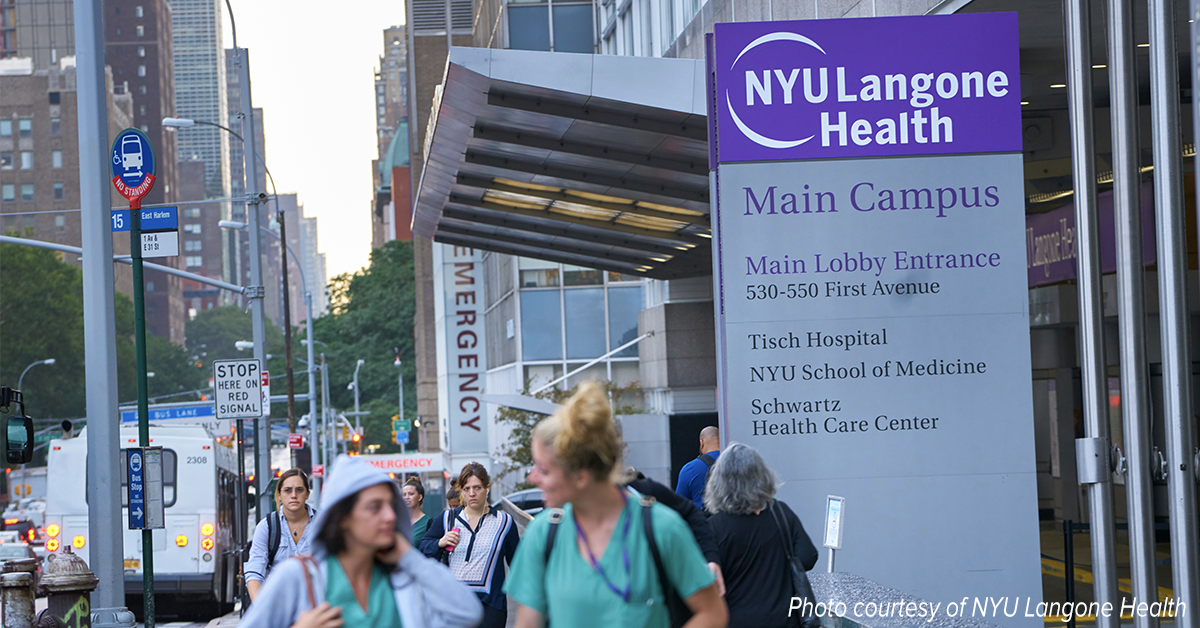 NYU Langone Health protecting patients by investing in