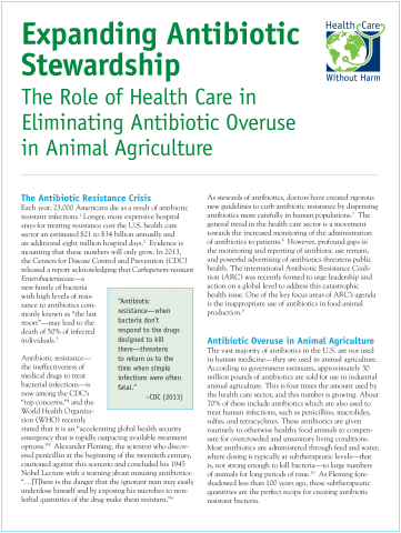 Expanding Antibiotic Stewardship White Paper